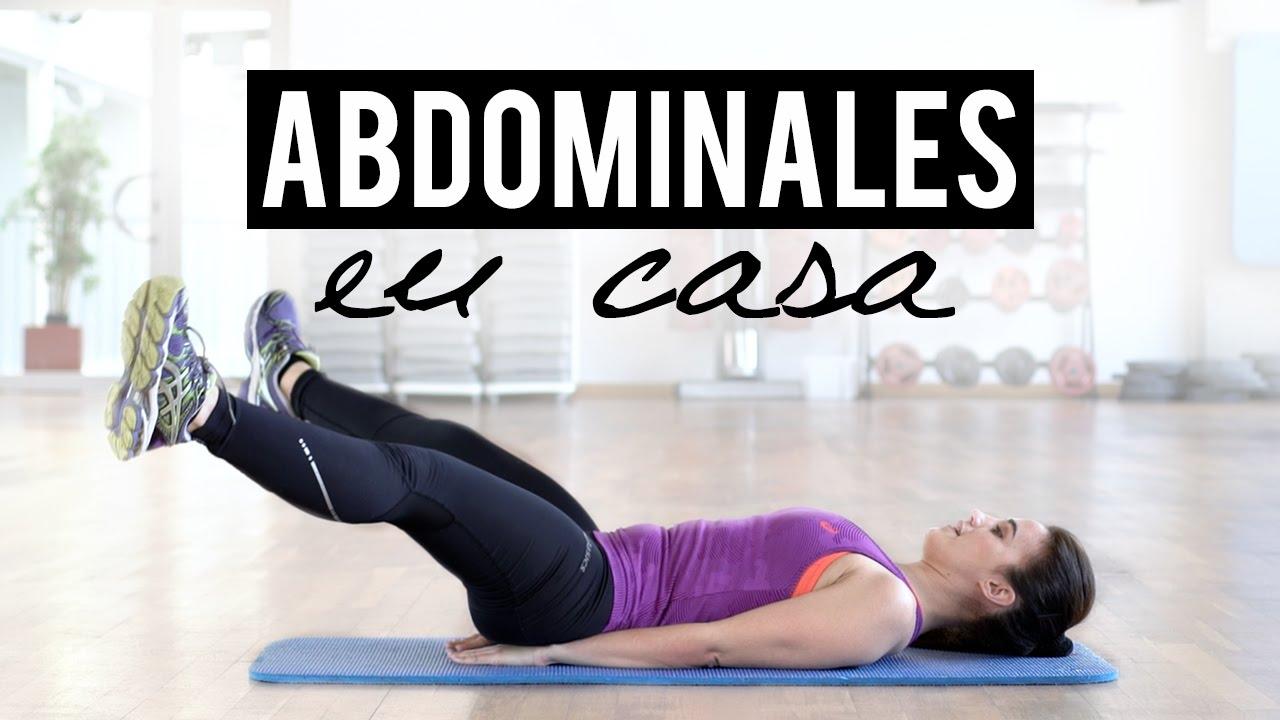 Rutina de abdominales en casa abs workout - Rutinas para casa ...