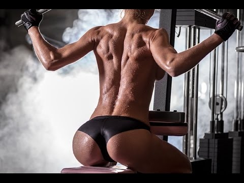 HOT-SEXY-GIRLS-ENGAGED-IN-FITNESS-IN-THE-GYM-FEMALE-MOTIVATION