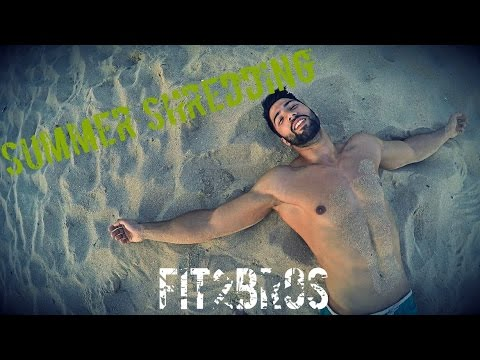 Summer-Shredding-Lifestyle-Ep.-5-Abs-and-HIIT-WORKOUT-on-the-beach