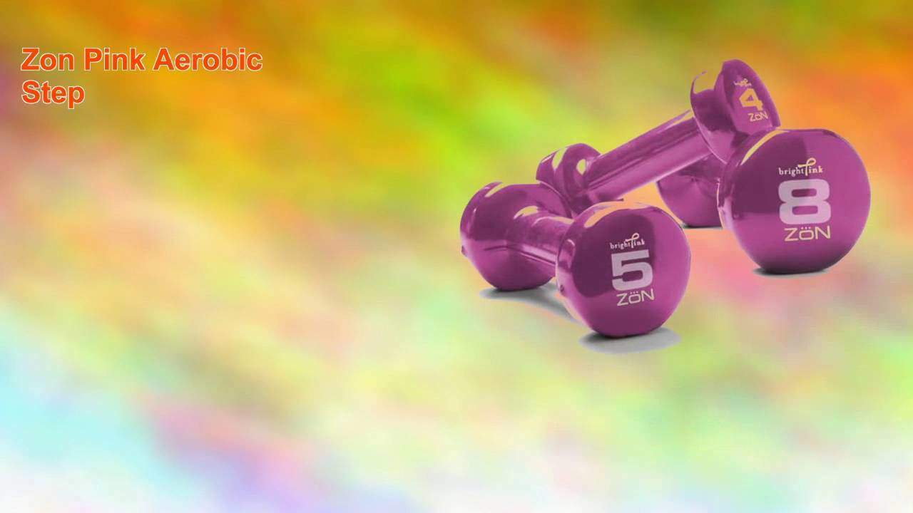 Zon-Pink-Aerobic-Step