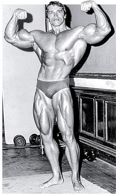 Arnold Schwarzeneggar Body Building