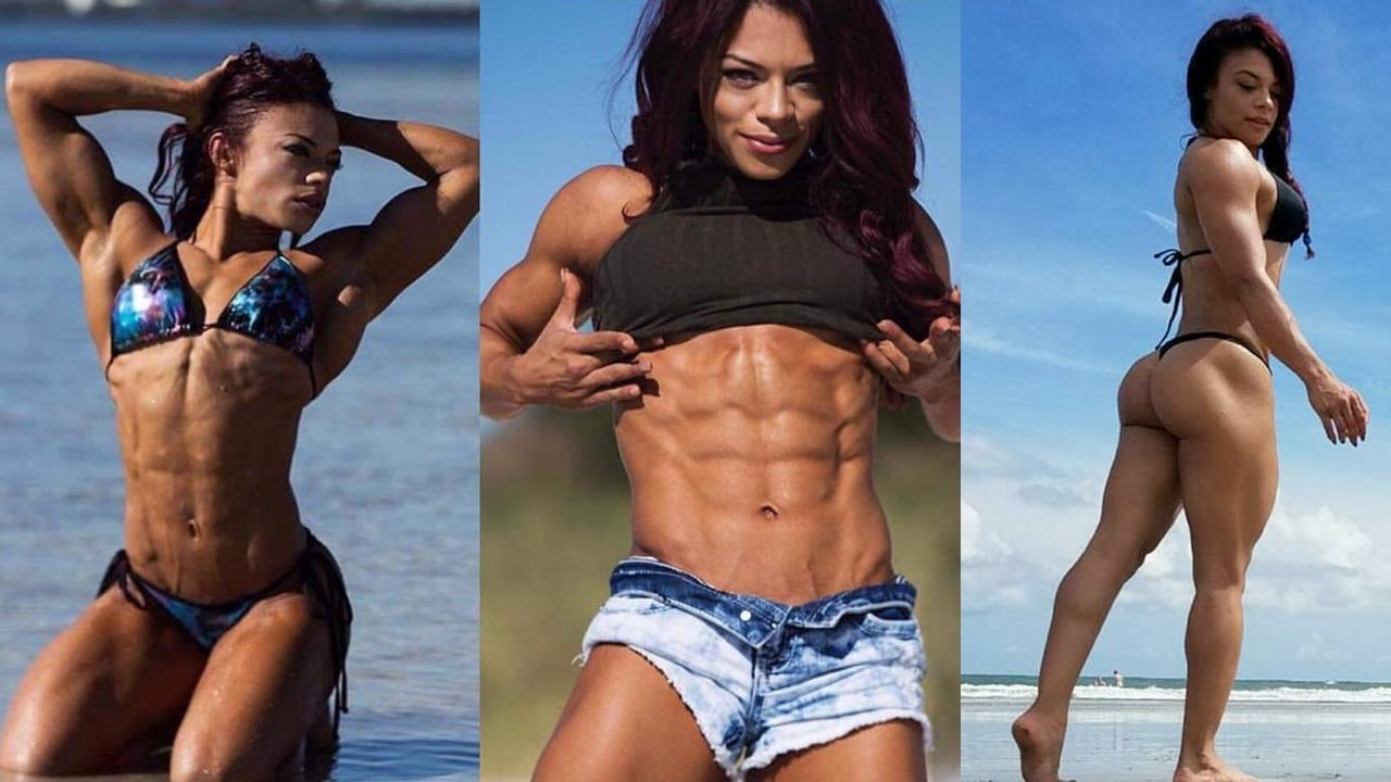 KESSIA MIRELLYS Strong Workout Body motivation - Best ABS