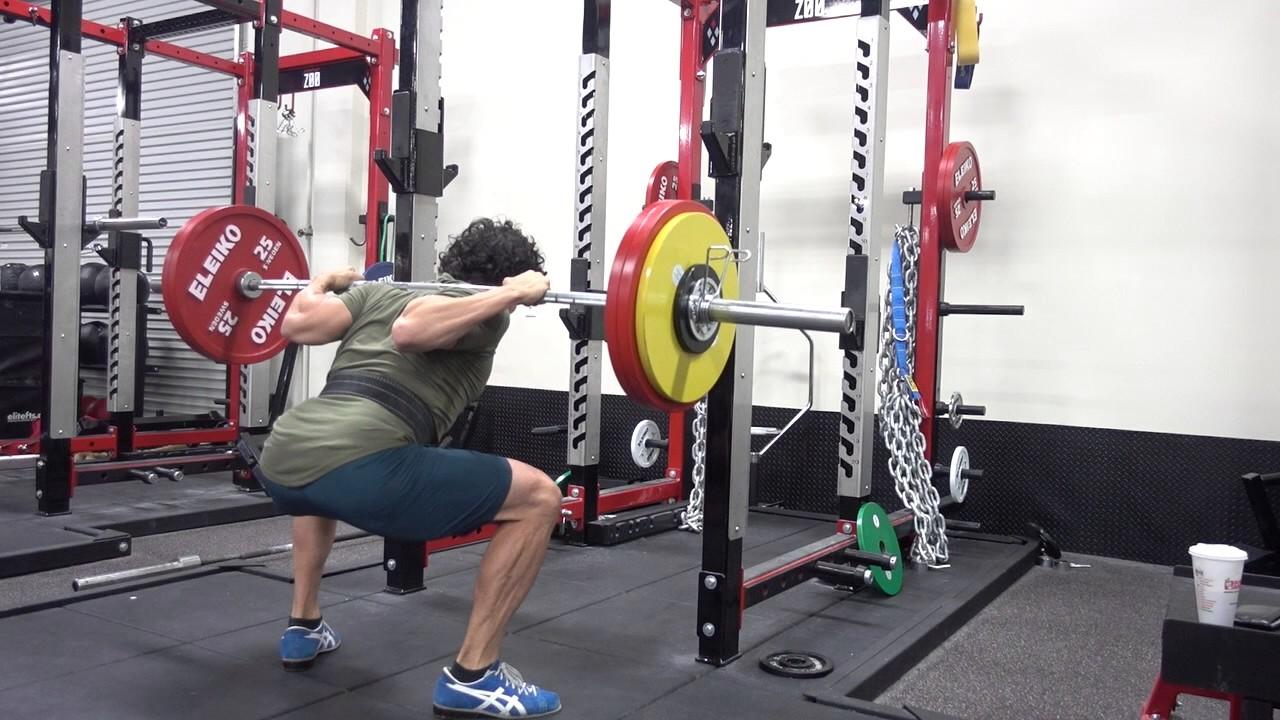 Squats Strength 156 Kg 343 Lb X 3 91 5