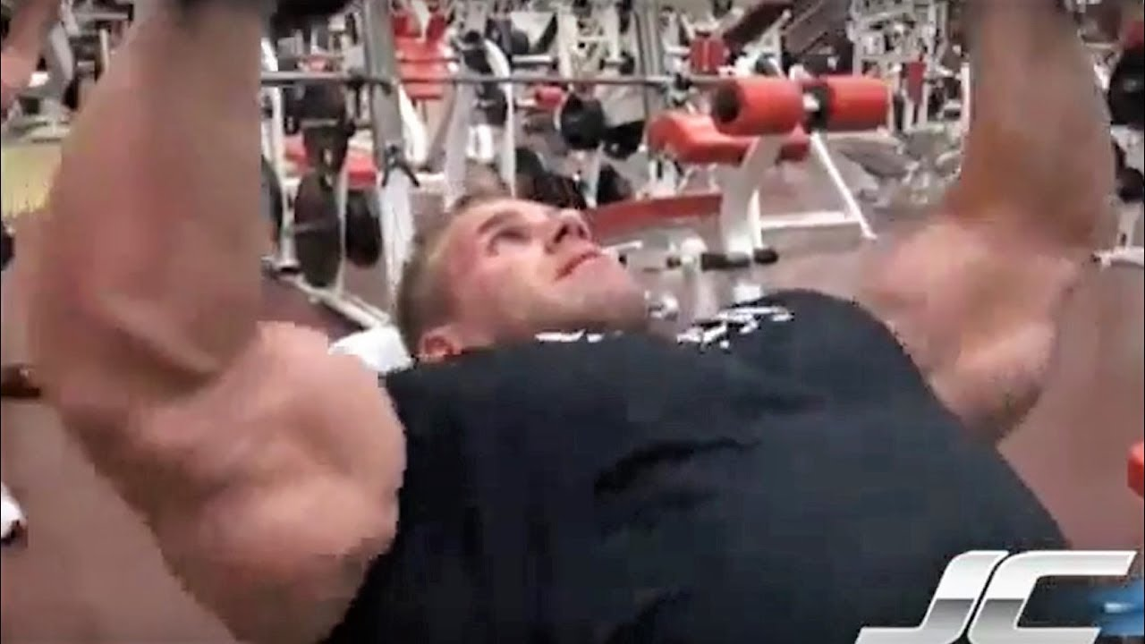 JAY CUTLER - 2011 CHEST TRAINING - Bodybuilding Muscle ...