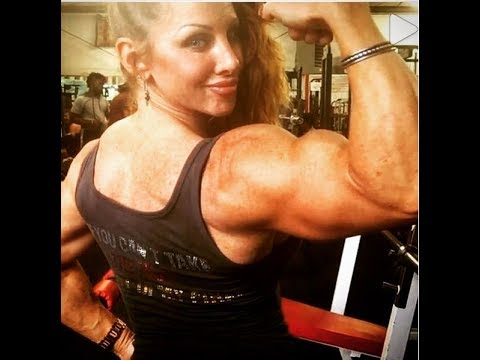Lindsay Mulinazzi - Female Muscle IFBB Bodybuilding with a