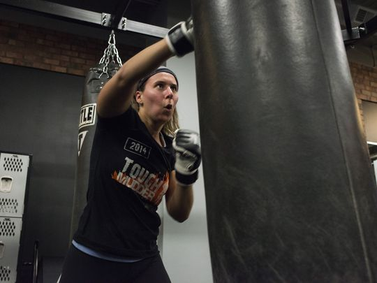 Women fuel explosion in boxing fitness gyms